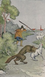 the shepherd boy and the-wolf